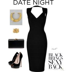 That little black dress. Always a winner !