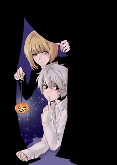 Death Note - Mello and Near halloween