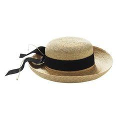 e9659ae34b0 Helen Kaminski  Newport  Standard Brim Hat - David Jones (€105) ❤ liked on  Polyvore featuring accessories