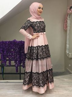 Muslim Evening Dresses, Hijab Evening Dress, Hijab Dress Party, Hijab Style Dress, Modest Fashion Hijab, Muslim Dress, Abaya Fashion, Muslim Fashion, Fashion Dresses