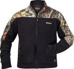 Rocky Brands Men's Micro Fleece Woodlands Print (Camo) Jacket - 50% off, only $49.99 | ChickSaddlery.com