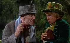 Fred Astaire & Tommy Steele in Finian's Rainbow...My favorite leprechaun and crock of gold thief! Vintage Movie Stars, Vintage Movies, Man Movies, Good Movies, Finian's Rainbow, Tommy Steele, Petula Clark, Classic Disney Movies, Fred And Ginger