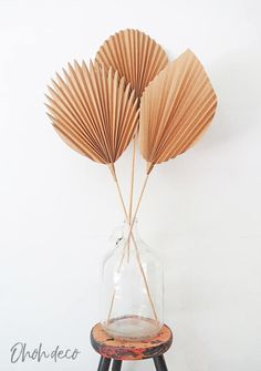 DIY paper Palm Leaf - Ohoh deco