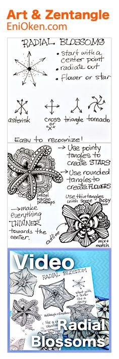 Learn how to create beautiful Zentangle®️ • enioken.com