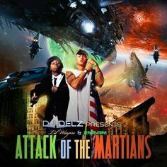 #attackofthemartians #lilwayne #eminem #mixtapecovers #rappers #artist #graphics #designs #like4like #hiphop