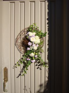 Wreath for the front door.