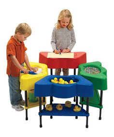Look what I found on #zulily! Four-Color Activity Table Set #zulilyfinds