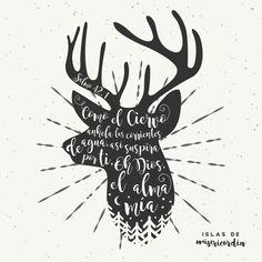 Islas de Misericordia by Sarai Llamas - Salmo 42, 1 #Bible #Biblia #Salmos #SaraiLlamas
