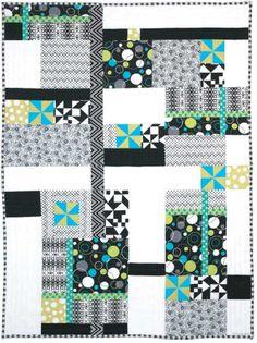 Free Quilt Pattern - Graphyx Quilt