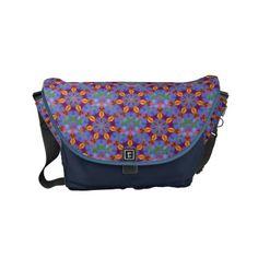 Golden Leaves Small Messenger Bag - accessories accessory gift idea stylish unique custom