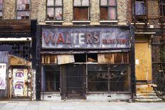 Derelict Shop, Mile End.