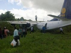 Myanma Airlines Xian MA-60, no injuries.