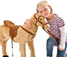 """Sonderaktion! Happy People Spielzeug Pferd Cowboypferd """"Anglo-Araber"""", mit Sound, Sattelhöhe ca. 49 cm, mit kariertem Halstuch + 2. Sattel in braun mi - See more at: http://spielzeug.florentt.com/toys-games/sonderaktion-happy-people-spielzeug-pferd-cowboypferd-angloaraber-mit-sound-sattelhhe-ca-49-cm-mit-kariertem-halstuch-2-sattel-in-braun-mi-de/#sthash.GeP5Y7SM.dpuf"""