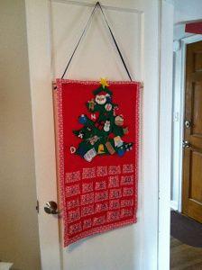 DIY Children's Felt Advent Calendar