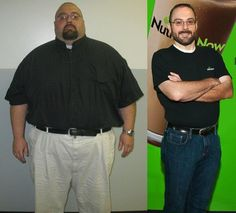 Ron lost 203 lbs.