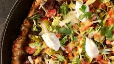Tater Tot Taco Pizza Recipe | The Chew - ABC.com