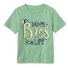 WonderKids Infant & Toddler Boys' Graphic T-Shirt - Bros For Life Infant Toddler, Toddler Boys, Dad N Me, Kids Prints, Boys T Shirts, Boy Fashion, 18 Months, Mens Tops, Size 12