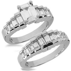 130 Best Emerald Cut Diamond Engagement Rings Images In