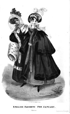 1833 Fashion The Royal Lady's magazine, and archives of the court of St. James's 1830s Fashion