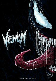 Illustrated piece for the We Are Venom creative brief. Venom Comics, Marvel Venom, Marvel Villains, Marvel Art, Marvel Dc Comics, Marvel Heroes, Marvel Avengers, Marvel Comic Universe, Comics Universe