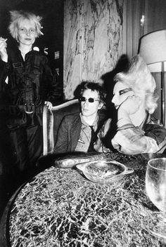 Vivienne Westwood, Johnny Rotten and Jordan, 1976