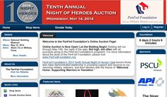 Bid now! Our 10th Annual Night of Heroes Gala will be held at the National Building Museum in Washington, D.C., on May 14 to raise funds to support our programs and the new Lee & Penny Anderson Defenders Lodge. As part of the gala, we'll have both silent and live auctions, as well as an online bidding component which is now open to the public and will run through 8:30 p.m. on May 14! Check the site often as additional items will be added throughout the week. www.bidpal.net/nightofheroes2014