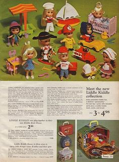 Liddle Kiddles 1966 Penneys Christmas Catalog P229, Kimi! That's our Kiddle HOUSE!