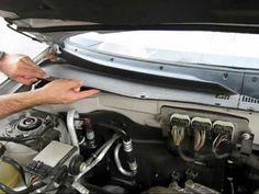 Cabin air filter replacement- Mercury Mariner