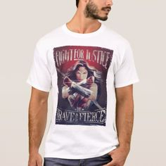 Wonder Woman Fight For Justice T-Shirt - click to get yours right now!
