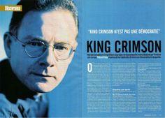 Scans et transcription du Discorama consacré à King Crimson, paru ...