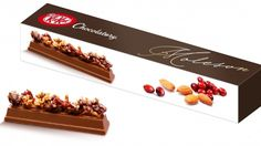 Nestle is bringing us another new concoction: the Kit Kat Chocolatory Moleson, which will only be sold in specialty boutiques in Japan.