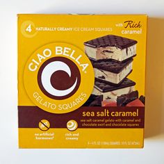 Are Ciao Bella's Sea Salt Caramel Ice Cream Sandwiches as enticing as they sound?