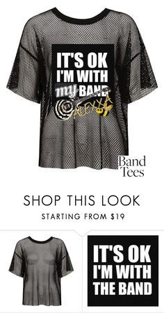 """Band Tease Alexxa B"" by alexxa-b ❤ liked on Polyvore featuring Sans Souci, &klevering, band, Tease and alexxa"