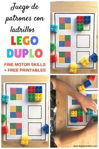 Toddler Learning Activities, Montessori Activities, Infant Activities, Preschool Activities, Lego Duplo, Lego Projects, Learning Through Play, Kids Education, Legos