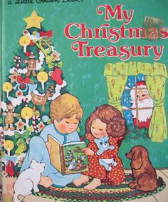 Little Golden Book My Christmas Treasury 1970s
