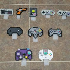Your place to buy and sell all things handmade – Game Room İdeas 2020 Perler Bead Designs, Perler Bead Templates, Diy Perler Beads, Perler Bead Art, Pearler Beads, Fuse Beads, Kandi Patterns, Perler Patterns, Beading Patterns