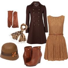Ready for the Cold by beckysmith-1 on Polyvore featuring Hobbs, Chinese Laundry, Goorin, Pierre Darré and Fat Face
