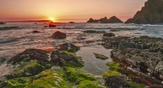 ballintoy sunset. by patrick mc cullough on 500px