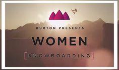 Burton Presents Women Snowboarding Video Snowboarding Videos, Snowboarding Women, Skiing, Rocks, Sporty, Adventure, Lifestyle, Happy, Ski