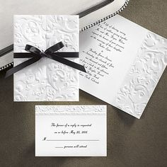 Simple, but elegant invitations