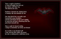 dark gothic poems - Google Search