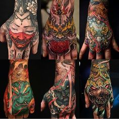 Incredible Hand Tattoos by 💥 💥 Life Tattoos, Body Art Tattoos, Sleeve Tattoos, Crotch Tattoos, Japanese Tattoo Art, Japanese Tattoo Designs, Future Tattoos, Tattoos For Guys, Tatouage Delta