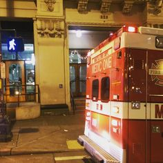 Ambulances arrived quickly...