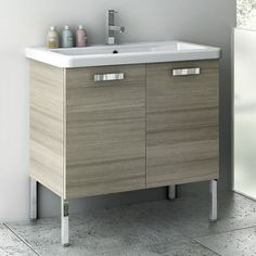 Lanza Products WF Monte Inch Vanity With Top And Sink Modern - 30 inch contemporary bathroom vanity