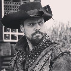 The Musketeers - From Howie's Instagram: Porthos