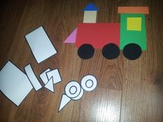 shapes train