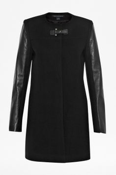 French Connection | Station Herringbone Double-Breasted Coat | 70 ...