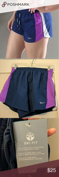 NWT Nike DRI-FIT shorts **FIRM PRICE** New with tags. Inside is lined. Nike Shorts