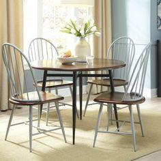 Juego de comedor con seis sillas ca o y hierro for Wayfair comedores
