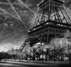 """Eiffel Tower - If you want to know more about my black and white go to: <a href=""""http://e-shopjmberts.businesscatalyst.com/index.html"""" title=""""www.jeanmichelberts.com""""target=""""_blank"""">www.jeanmichelberts.com</a>"""